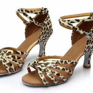 Women Salsa Tango Latin Ballroom Dance Shoes